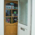 2 interior porch door