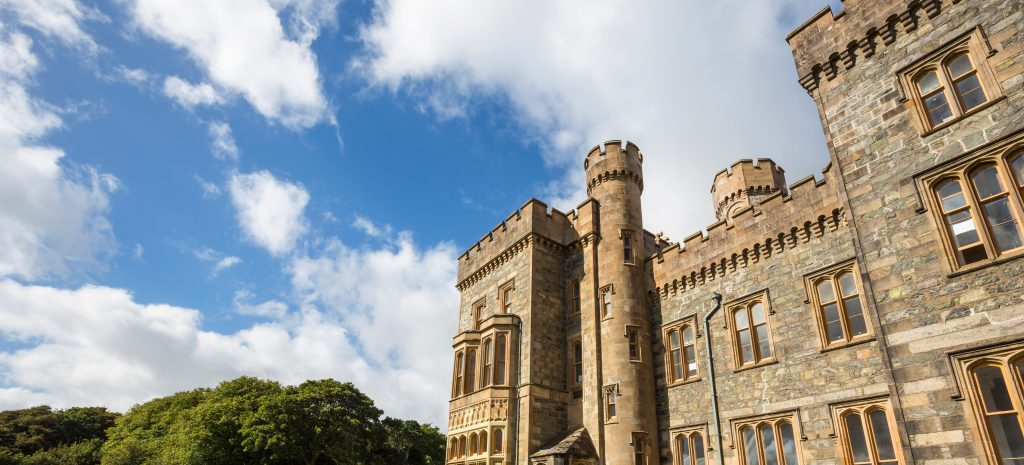 Lews Castle and Museum in Stornoway