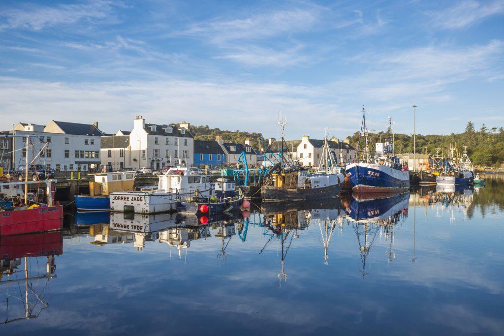 Stornoway port & harbour.